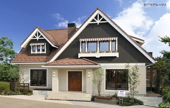 ヨーロッパスタイルの輸入住宅
